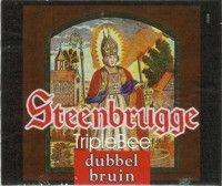 Label van Steenbrugge Dubbel Bruin