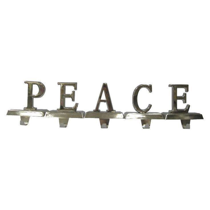 Peace Stocking Holders 20