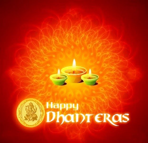 May Goddess Lakshmi bless U with Happiness & Prosperity. Wish you all a very #HappyDhanteras