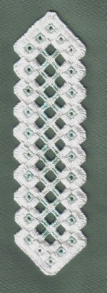 Hardanger Instructions | ... Embroidery A Hardanger Bookmark from a pattern in Piecework Magazine