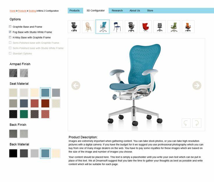 chairs configurator