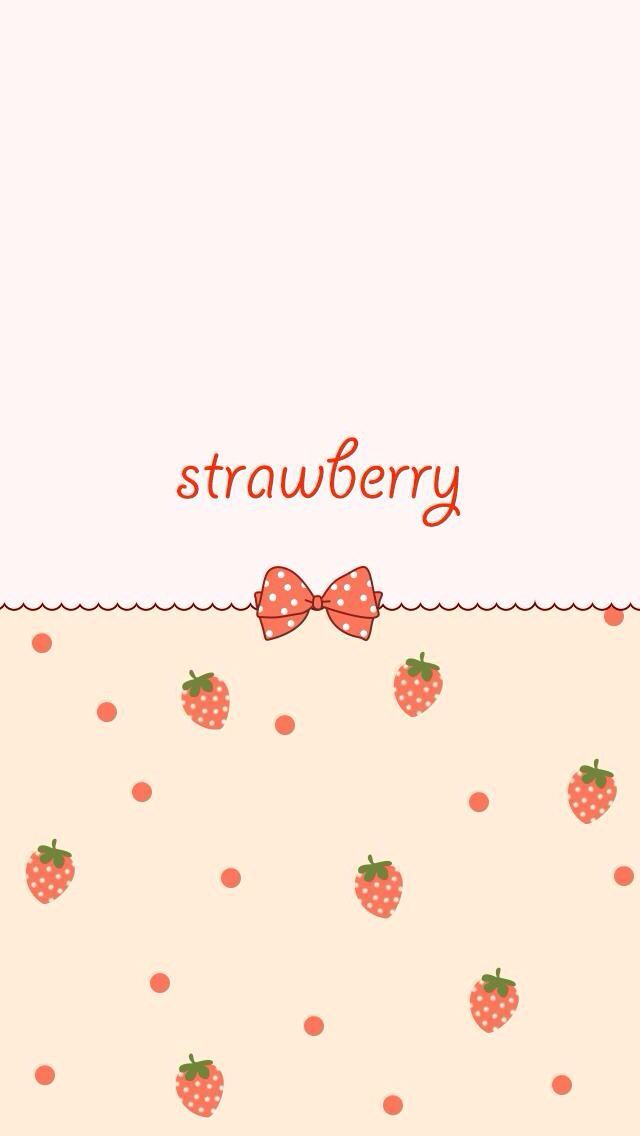 Seamless Pattern Of Strawberry And Cherry Cartoon Royalty Free
