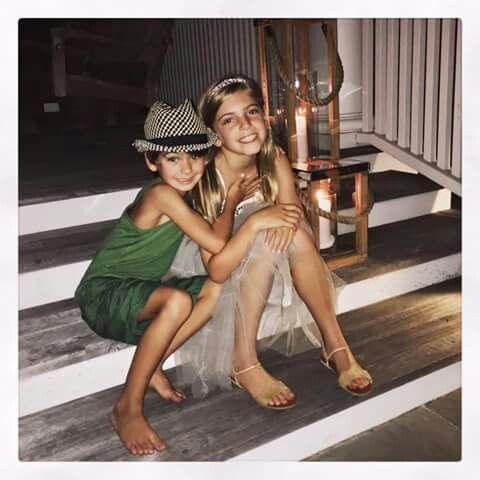 Jeff Gordon's beautiful children