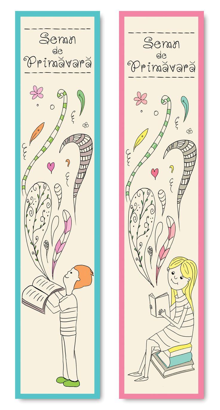 Spring Bookmark