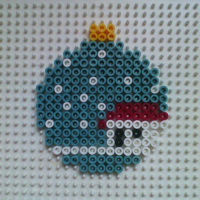Christmas ornament hama beads by hadavedre