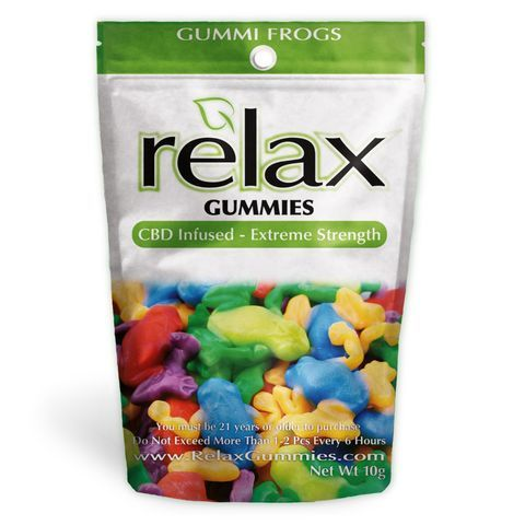 Relax Gummies - CBD Infused Frogs [Edible Candy] | CBD