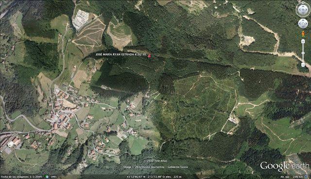 El Mapa del Olvido: El Mapa de los Asesinatos de ETA: JOSÉ MARÍA RYAN ESTRADA ETA Zarátamo Zaratamo Bizkaia Vizcaya España