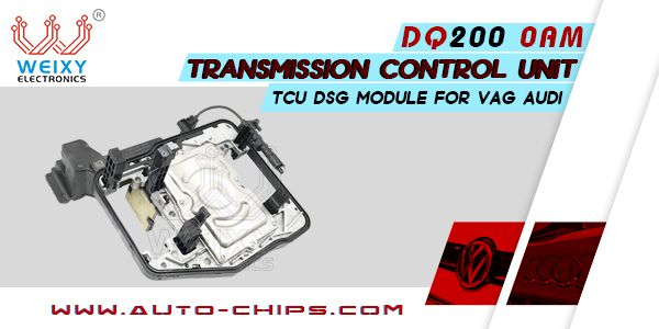 Dq200 0am Transmission Control Unit Tcu Dsg Module For Vag Audi Control Unit Audi Transmission