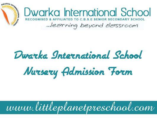 11 best Nursery School Admission 2014 images on Pinterest Board - admission form school