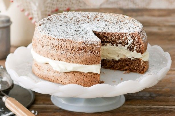Make sure you follow the instructions to the letter in this sponge recipe if you want to achieve the lightness the name suggests.