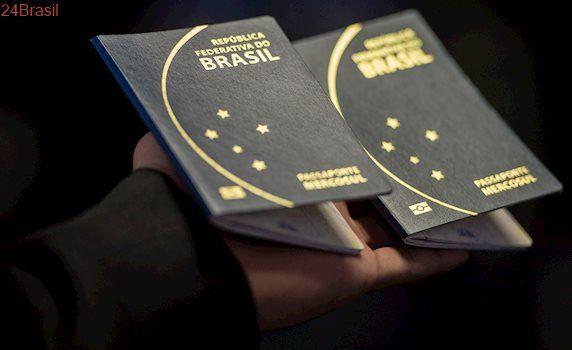 PF suspende emissão de passaporte às vésperas das férias escolares