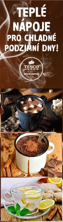 Zahřejte se o chladných zimních dnech teplými nápoji!