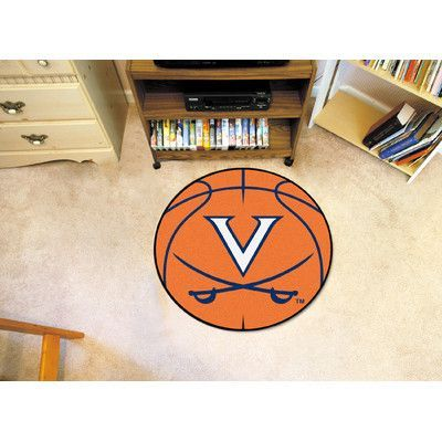 FANMATS NCAA University of Virginia Basketball Mat