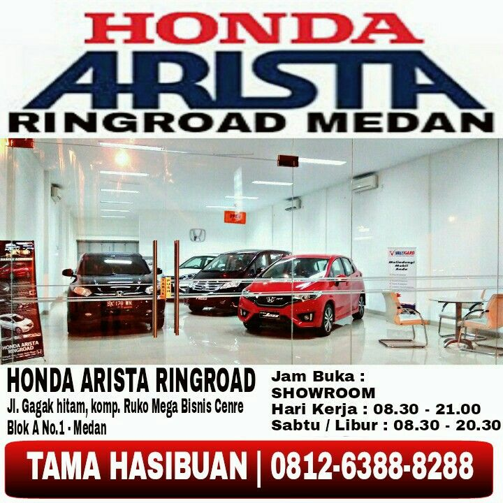 Honda Arista Ringroad in Medan, Sumatera Utara