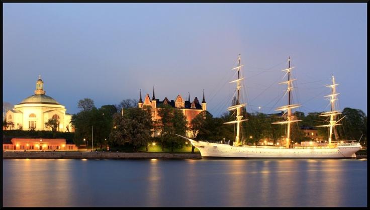 Stocholm, bateau auberge de jeunesse proche centre ville pour les petits budgets y'a pire !!