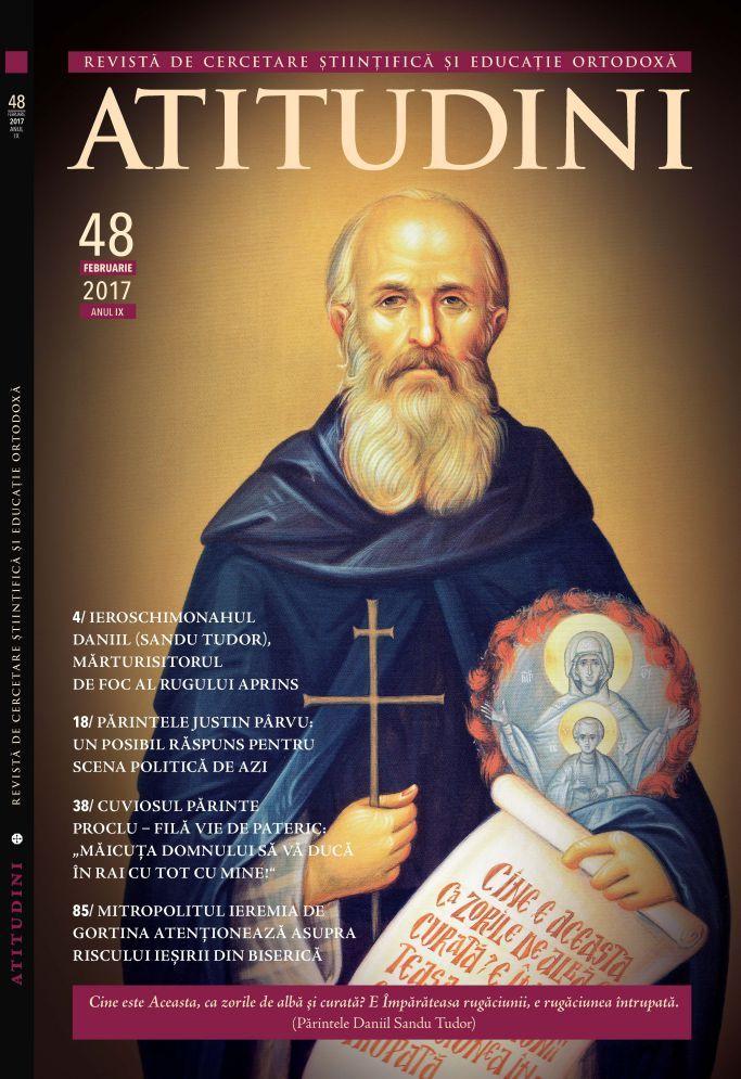 Coperta Revista Ortodoxa ATITUDINI nr. 48