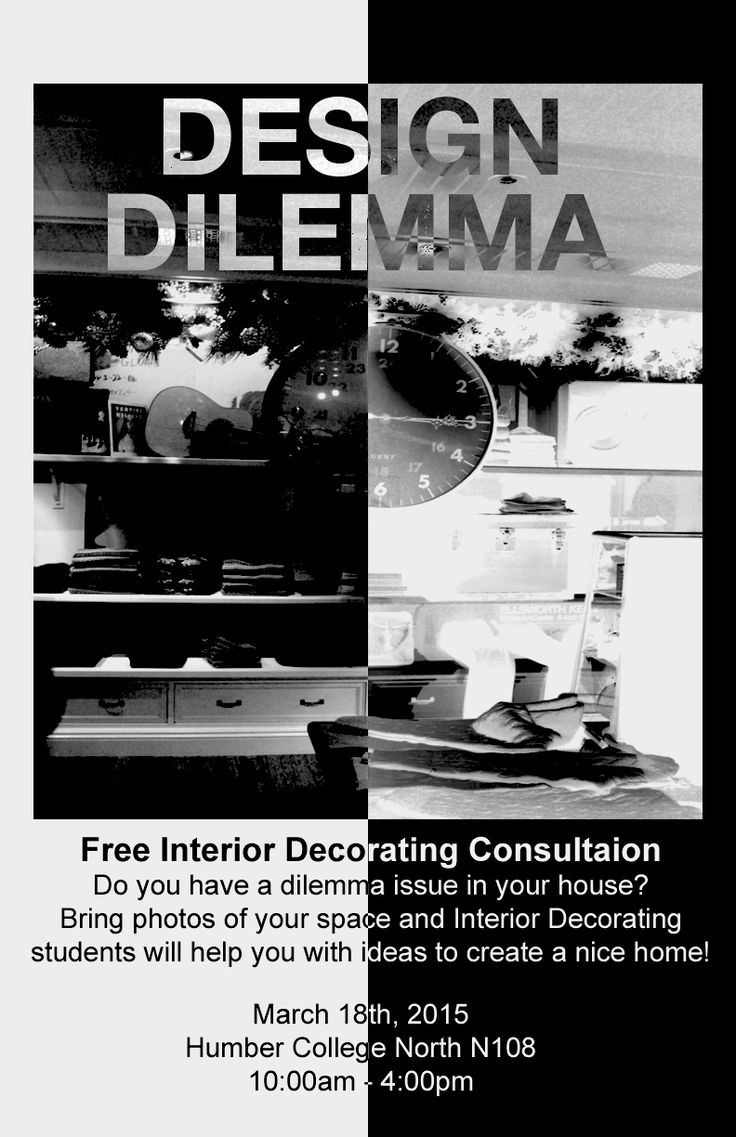 Poster for the Design Dilemma