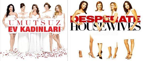 Orijinal karakterlerin gösteril(e)mediği bir uyarlama daha. Yine de diğer uyarlama diziler arasında aslına en yakınlardan biri. Umutsuz Ev Kadınları ve Desperate Housewıves.