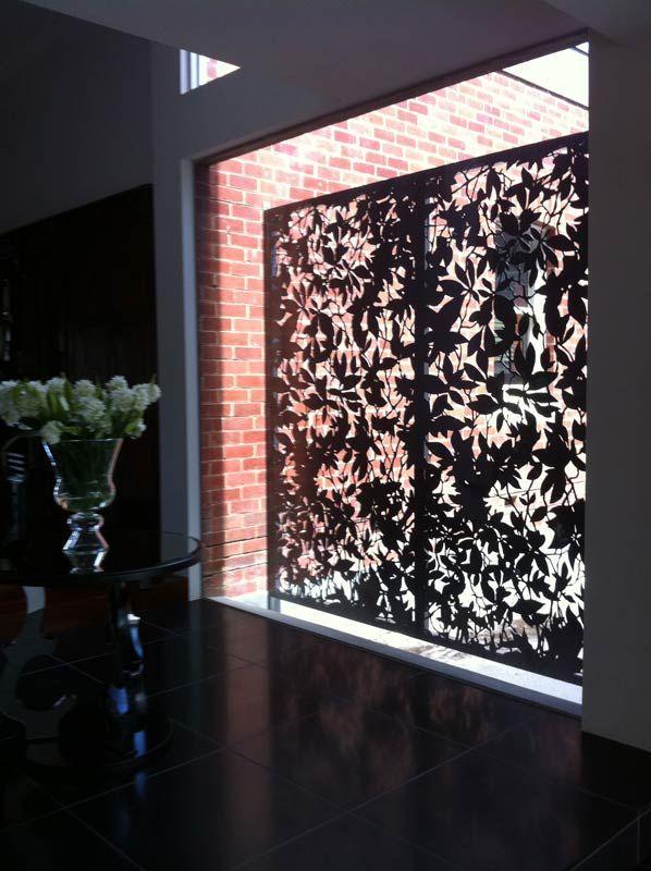 Decorative Laser Cut Screens   Melbourne   Pierre Le Roux Design