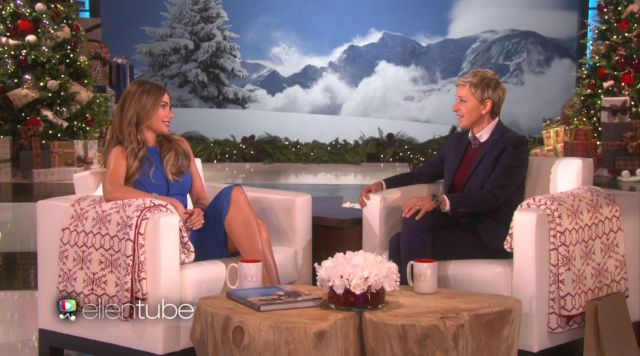 Sofia Vergara Confronts Ellen DeGeneres About Skipping Her Wedding  - ELLE.com