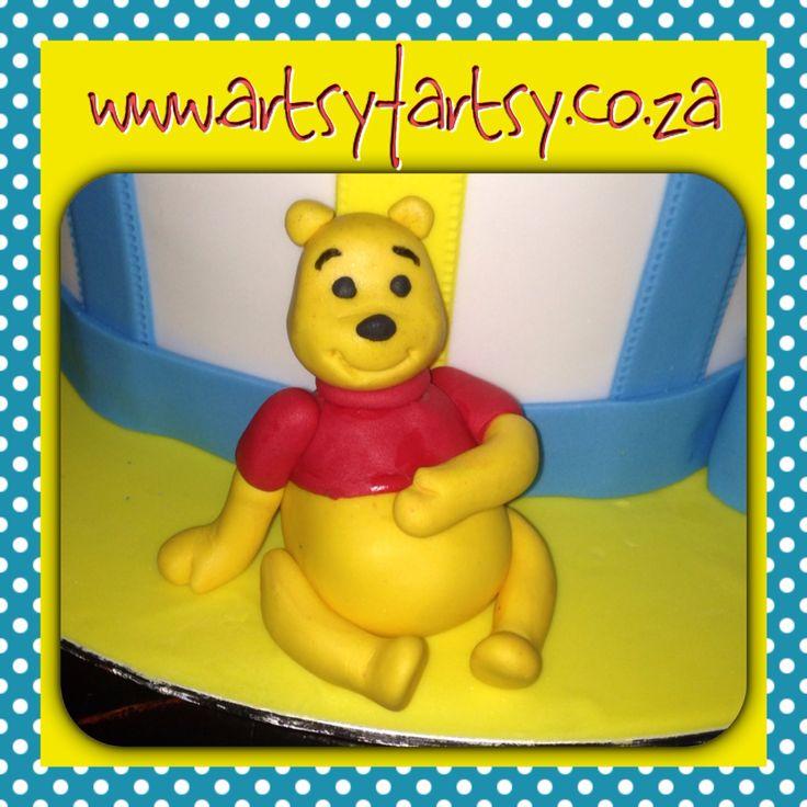 Winnie the Pooh Sugar Figurine #winniethepoohsugarfigurine