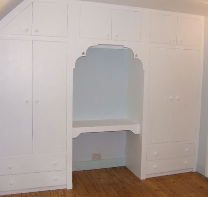 Fitted Wardrobe And Dressing Table Dressing Table Ideas