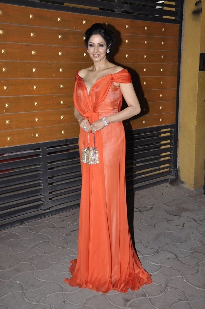 Sridevi at 58th Filmfare Awards.