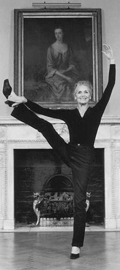 """Meet the World's Oldest Supermodel - Daphne Selfe, 87. Became a SuperModel at 70. What's the point?I go around looking at people and I think: """"You look so sad"""". I have been very lucky so I can be cheerful.   My life in six words…Perseverance, happiness, curiosity, luck, excitement, gratitude.     #70sweightlifter."""