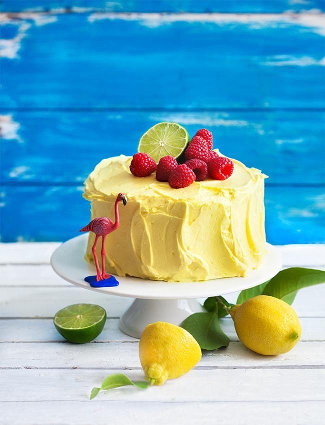 So schmeckt der Sommer! Die Mischung aus spritzigen Zitronen & Limetten und süßen Himbeeren ist einzigartig und unwiderstehlich. Ein perfektes, kleines Kunstwerk zu jedem Geburtstag, dem nächsten Sommerfest oder einfach so zum Kaffee :)