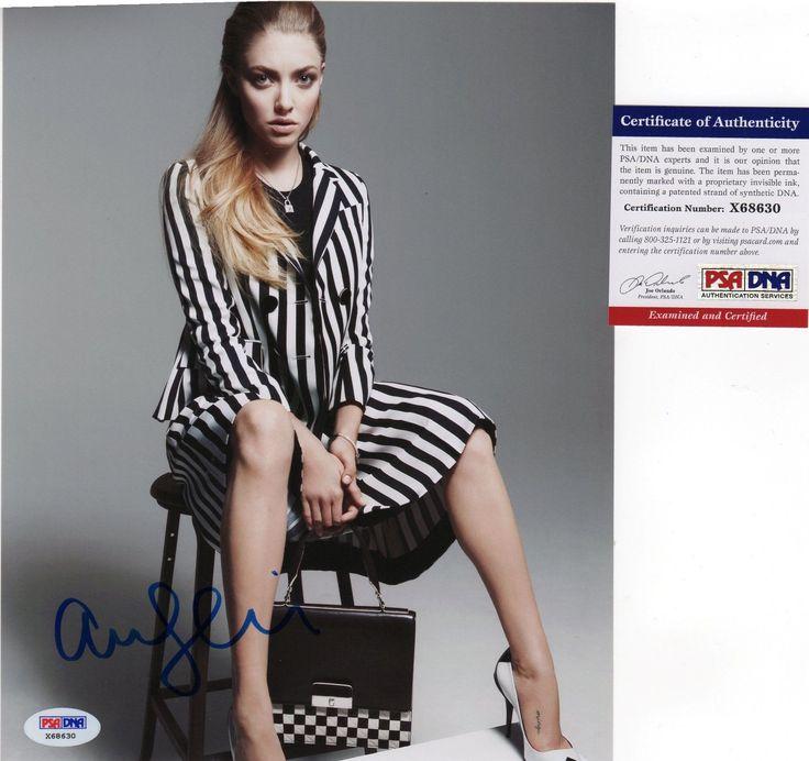 Amanda Seyfried Mean Girls Signed 8x10 Photo PSA DNA COA Autograph Sexy | eBay