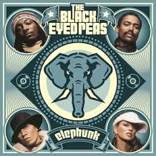 Black Eyed Peas Elephunk 2003 album.This was Fergie's first album. Their genre changed to hip hop, pop, rock, funk, contemprary R&B, Dance Pop, and Pop Rock.Sold more than 9 million copies world wide.