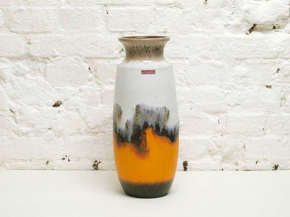 MODERNIST SCHEURICH XXL floor vase wonderful by BetterLookBack