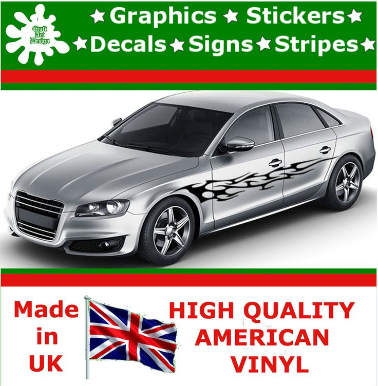 "10"" High Car Side Stripes Graphic Decal Vinyl Stickers Van Auto Rally Race F3_21"