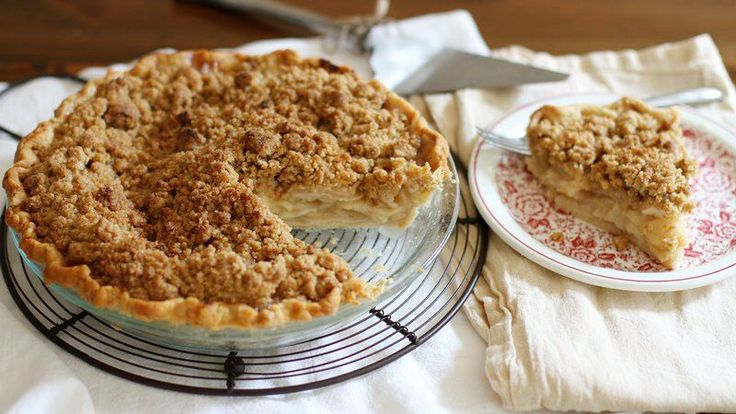 Dutch Apple Pie   Embrace apple season and bake up this classic crumble-topped apple pie today.