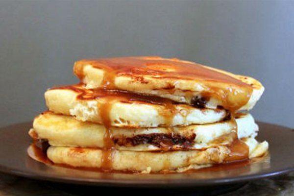 Τηγανίτες με μπανάνα και σοκολάτα Λαχταριστή γεύση για το πρωινό σας