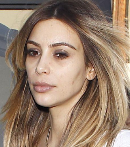 Kim Kardashian without makeup.  Celebrities without Makeup  Pinterest  Kim kardashian, The o