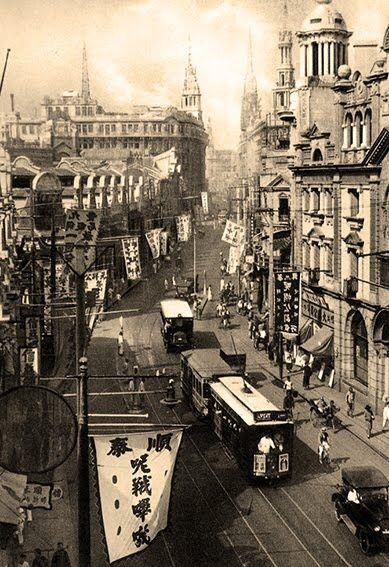 Shanghai 1920  | ce petit cochon | travel | shanghai china