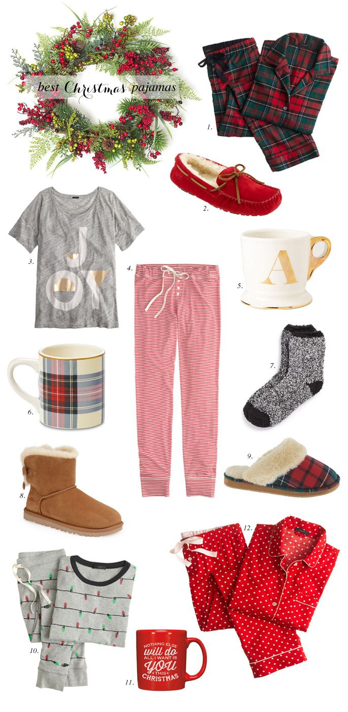 Festive pajama ideas perfect for Christmas!