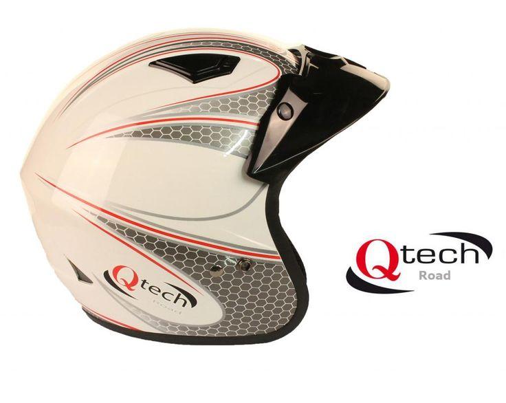 Open Face Motorcycle HELMET  £29.95