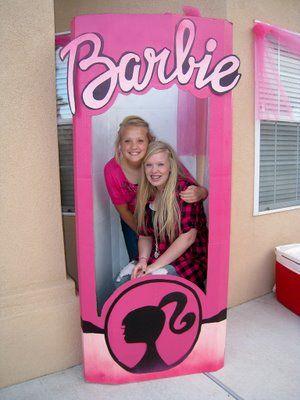 Lifesize barbie box, Miss Savannah's 5th bday is coming soon