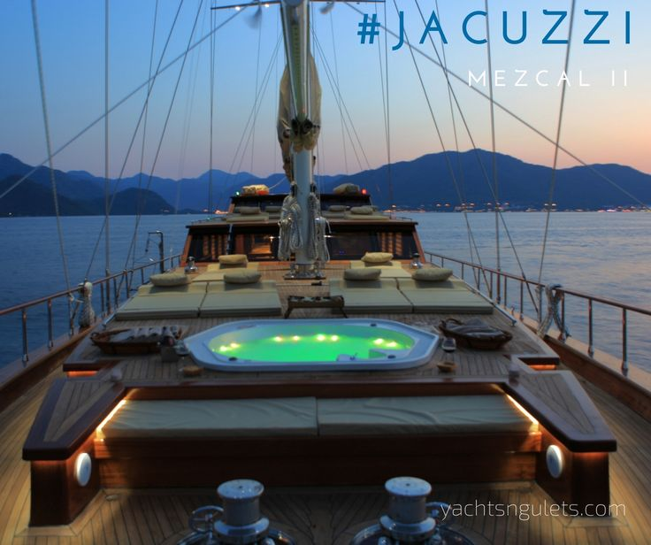 #jacuzzi #luxury and #adriatic #sunsets. #premium MEZCAL II. sleeps 12. available in August. see more photos here