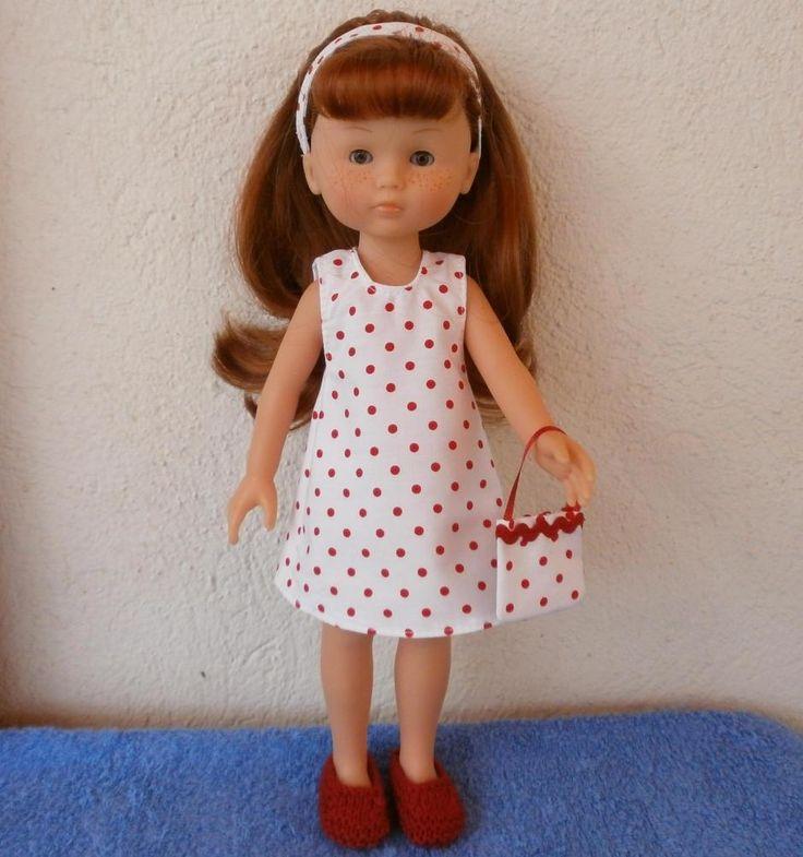 Ensemble pour poupée Chérie - MCL Poupées, vêtements pour les poupées et les poupons