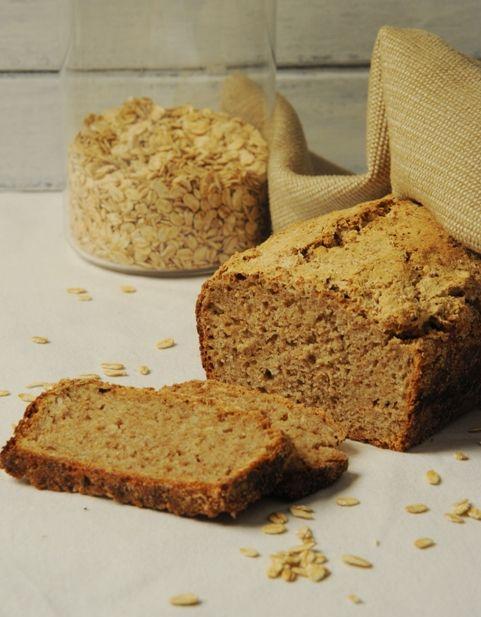 Owsiany chleb na zakwasie żytnim - długie wyrastanie