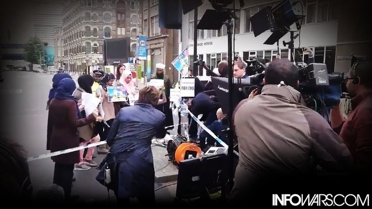FAKE CNN CAUGHT!!!  interview of the man who caught CNN staging and shooting a video about peaceful Muslims shortly after London was hit by an extremi...