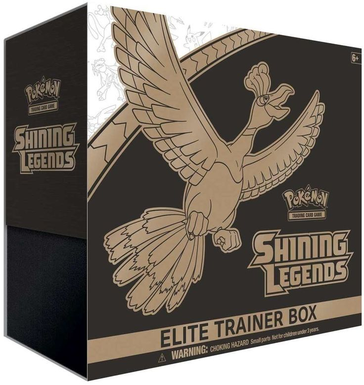 Pok mon Sealed Booster Packs 4301: Pokemon Shining Legends Tcg Sun And Moon Elite Trainer Box - New (Pre-Order) -> BUY IT NOW ONLY: $39.5 on eBay!