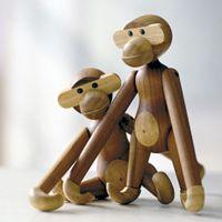 Kaj Bojesen - Wooden monkey - Danish design!