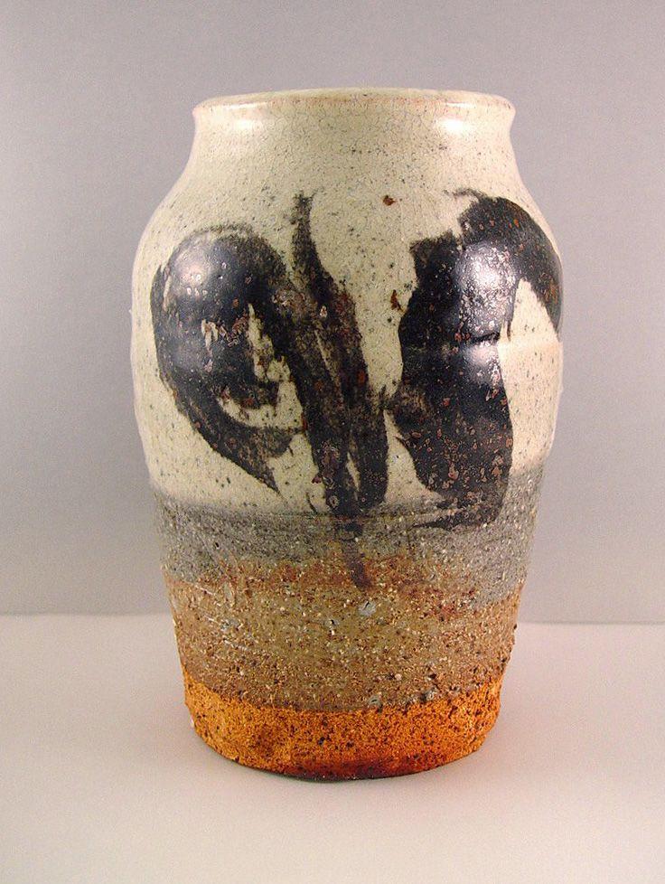 Japanese Handmade Vase by Ryoji Koie | Japansk keramik
