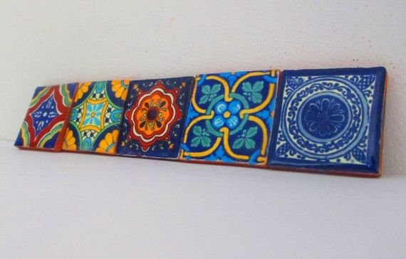 Mexican tile tribal by MexFabricSupplies on Etsy