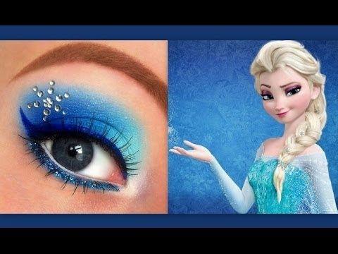 ▶ Disney's Frozen: Elsa makeup tutorial - YouTube