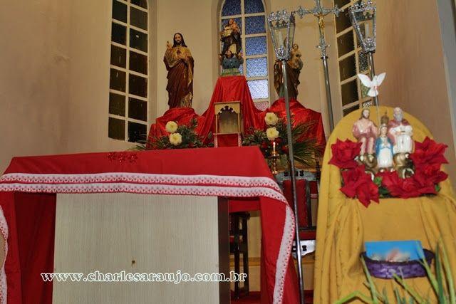 Santa Filomena Atual: Santa Filomena está celebrando o Novenário do Divi...